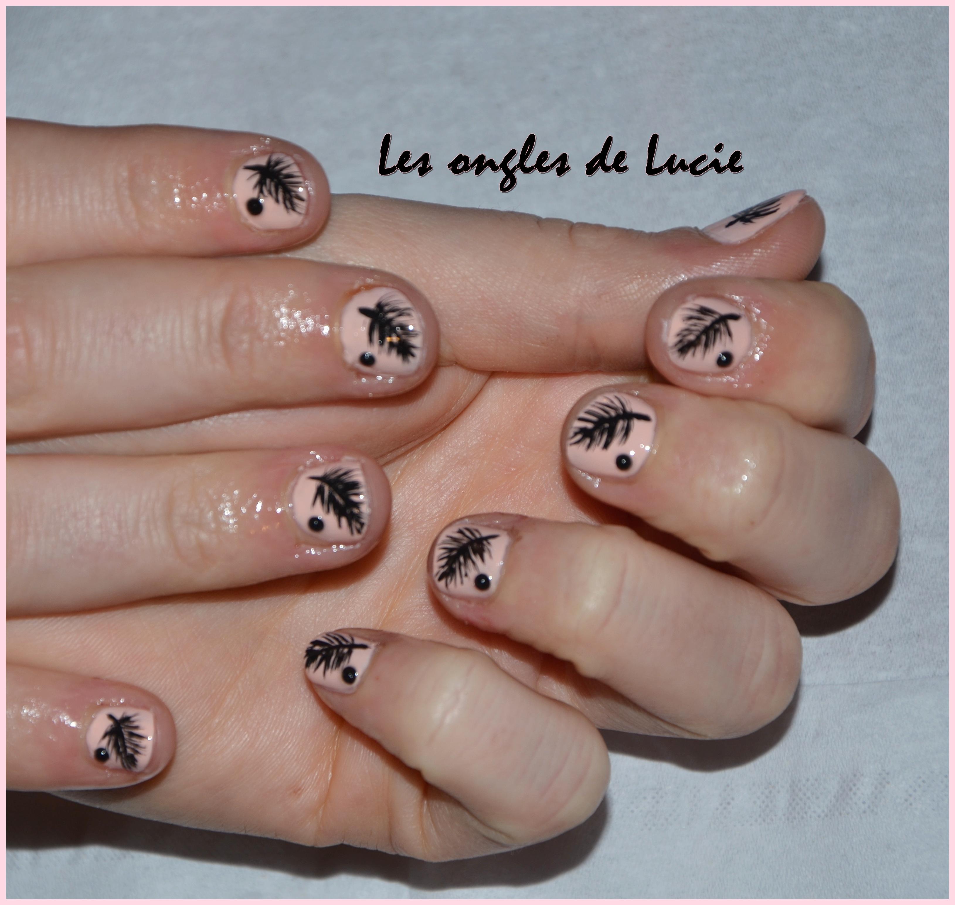 Populaire Nail art sur les autres!   les ongles de Lucie CB06