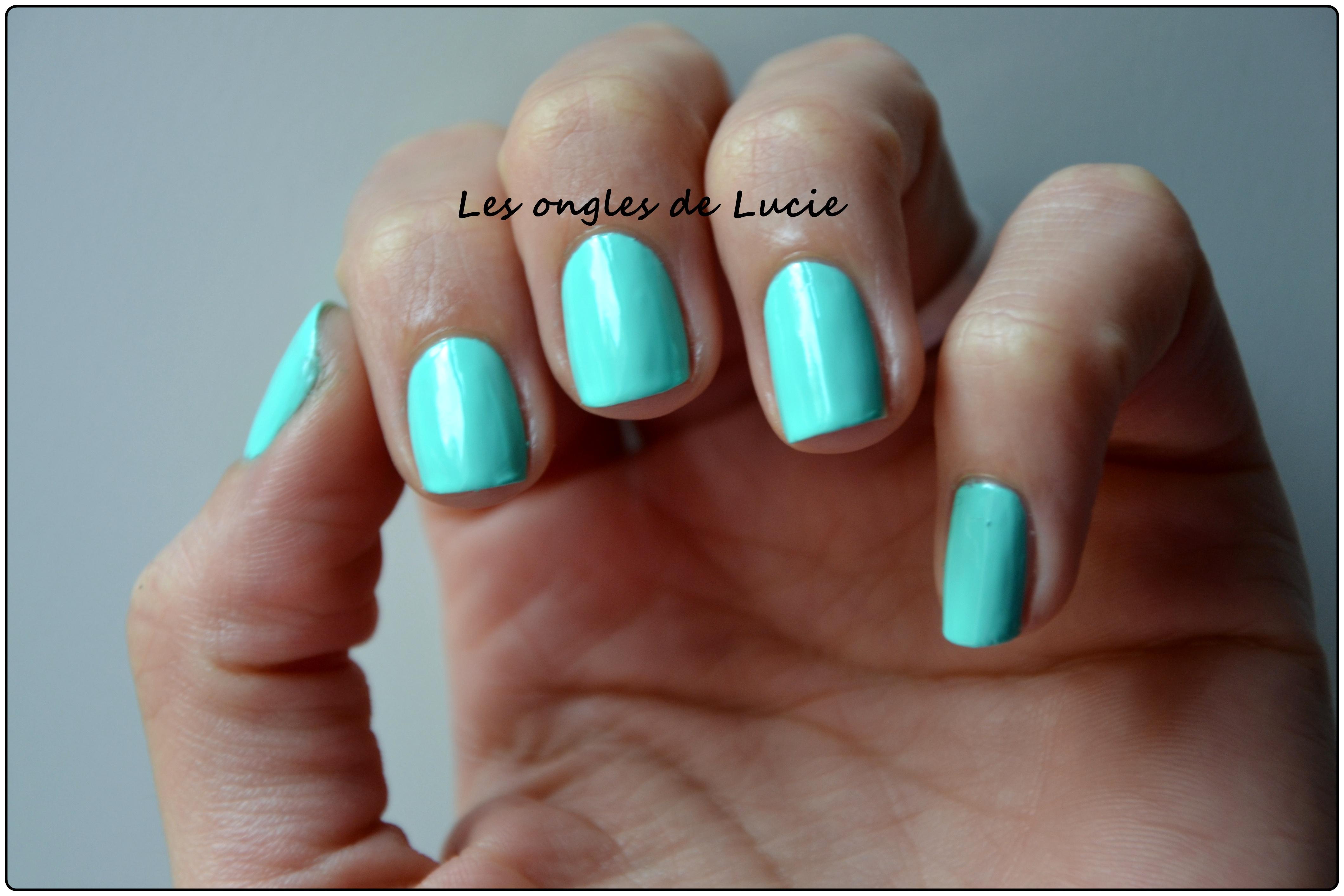 Étiquettes  bleu turquoise, kiko