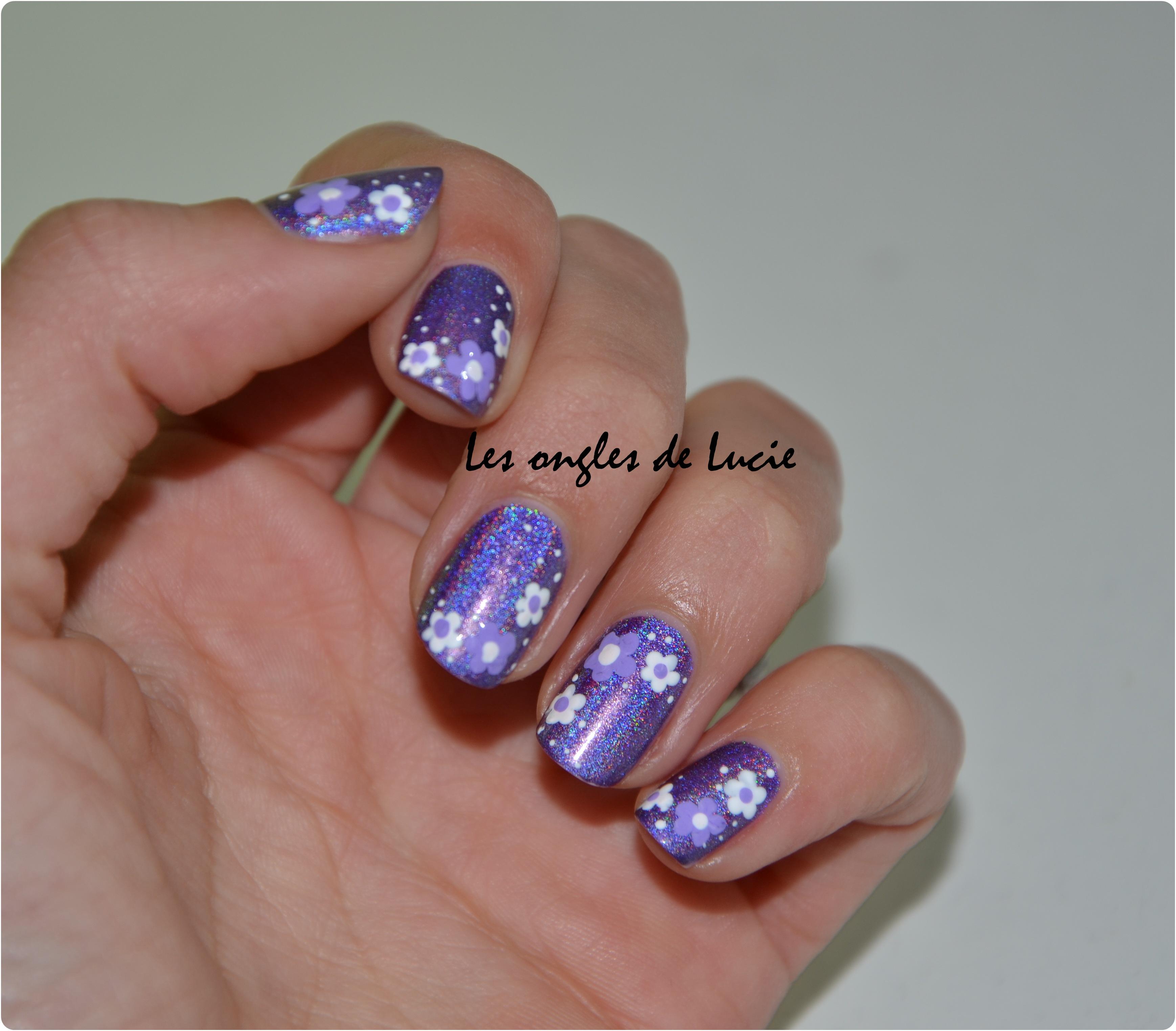 Nail Art Simple Sans Materiel: Les Ongles De Lucie