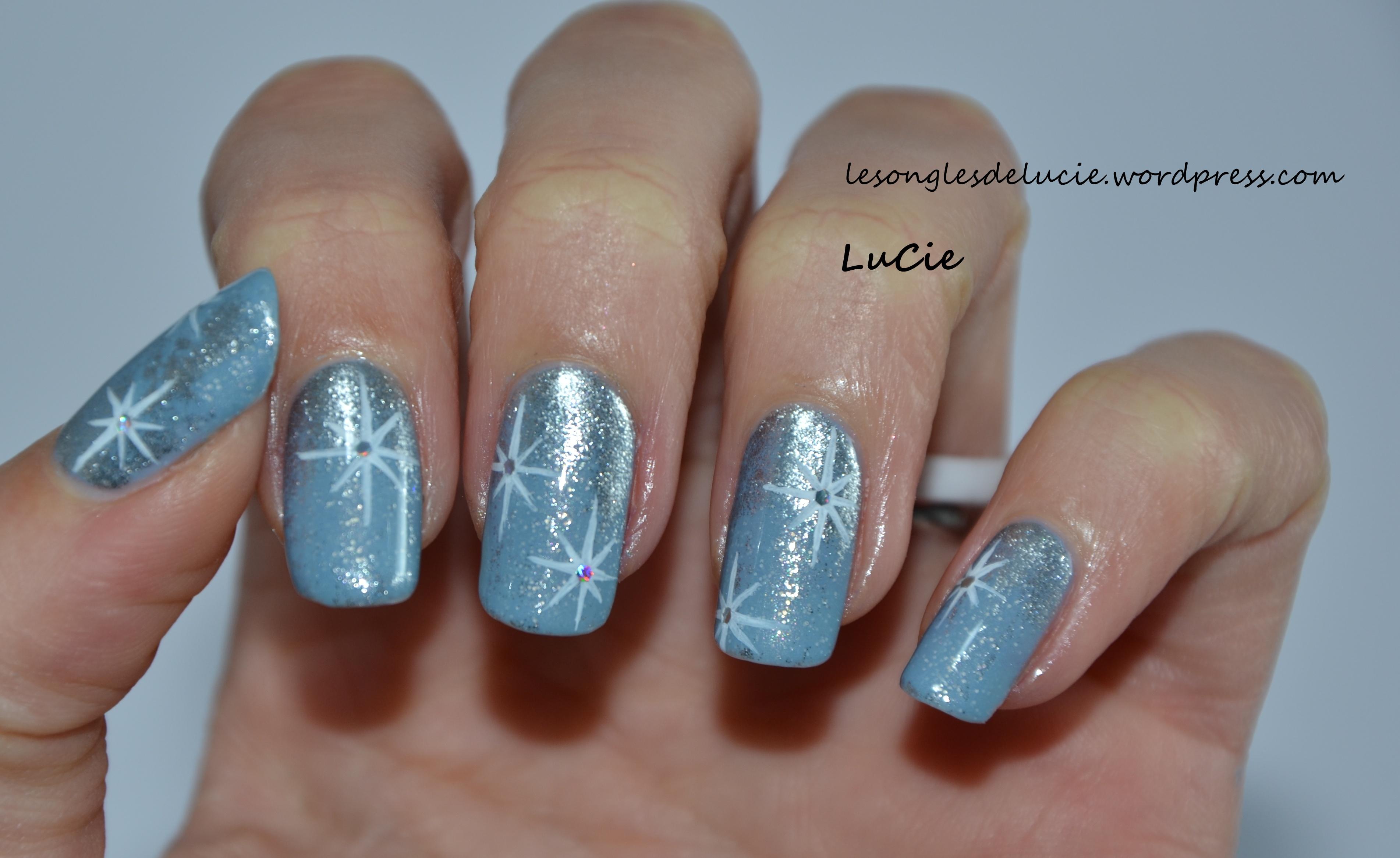 Nail art hiver
