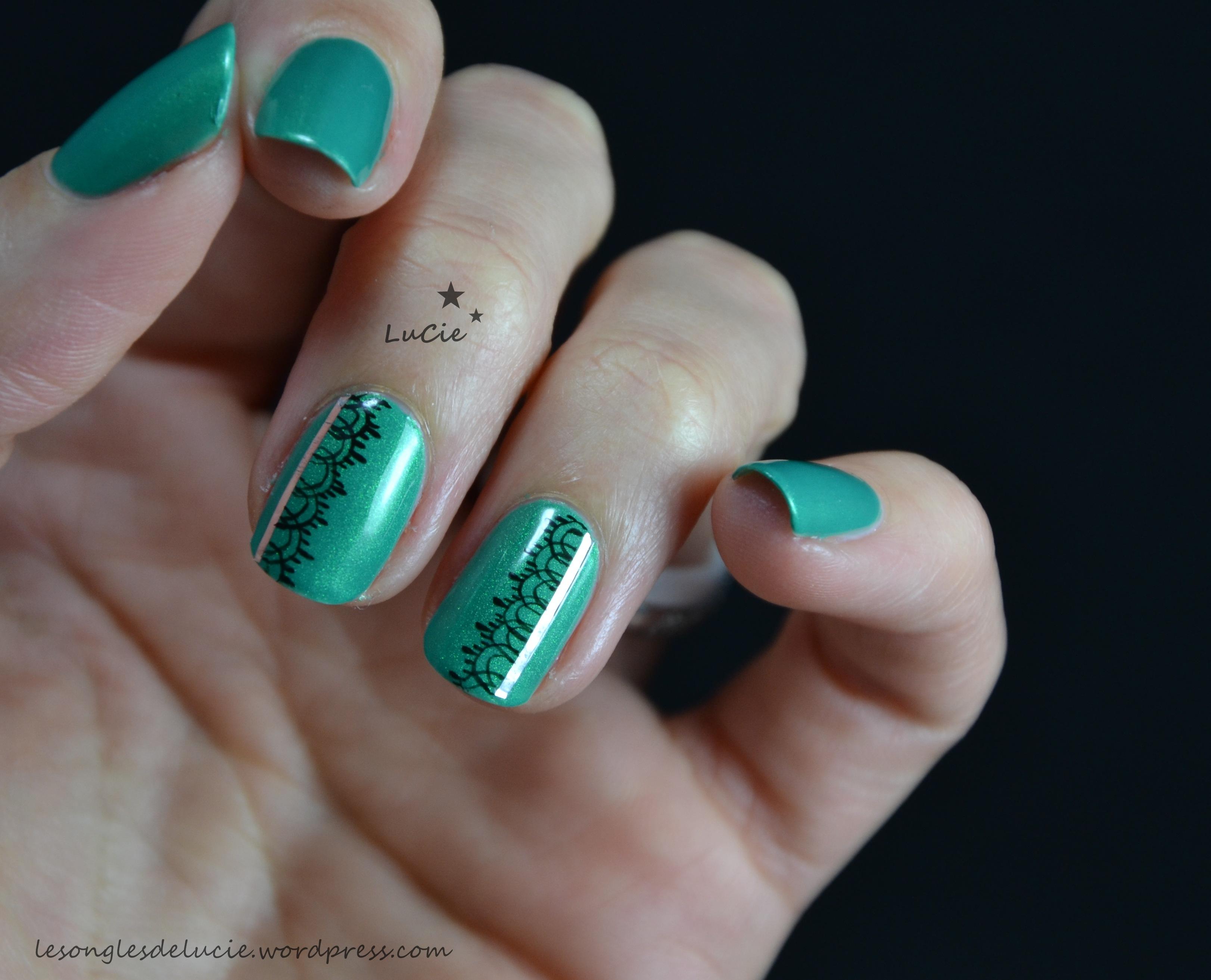 Nail art facile et discret - Nail art discret ...