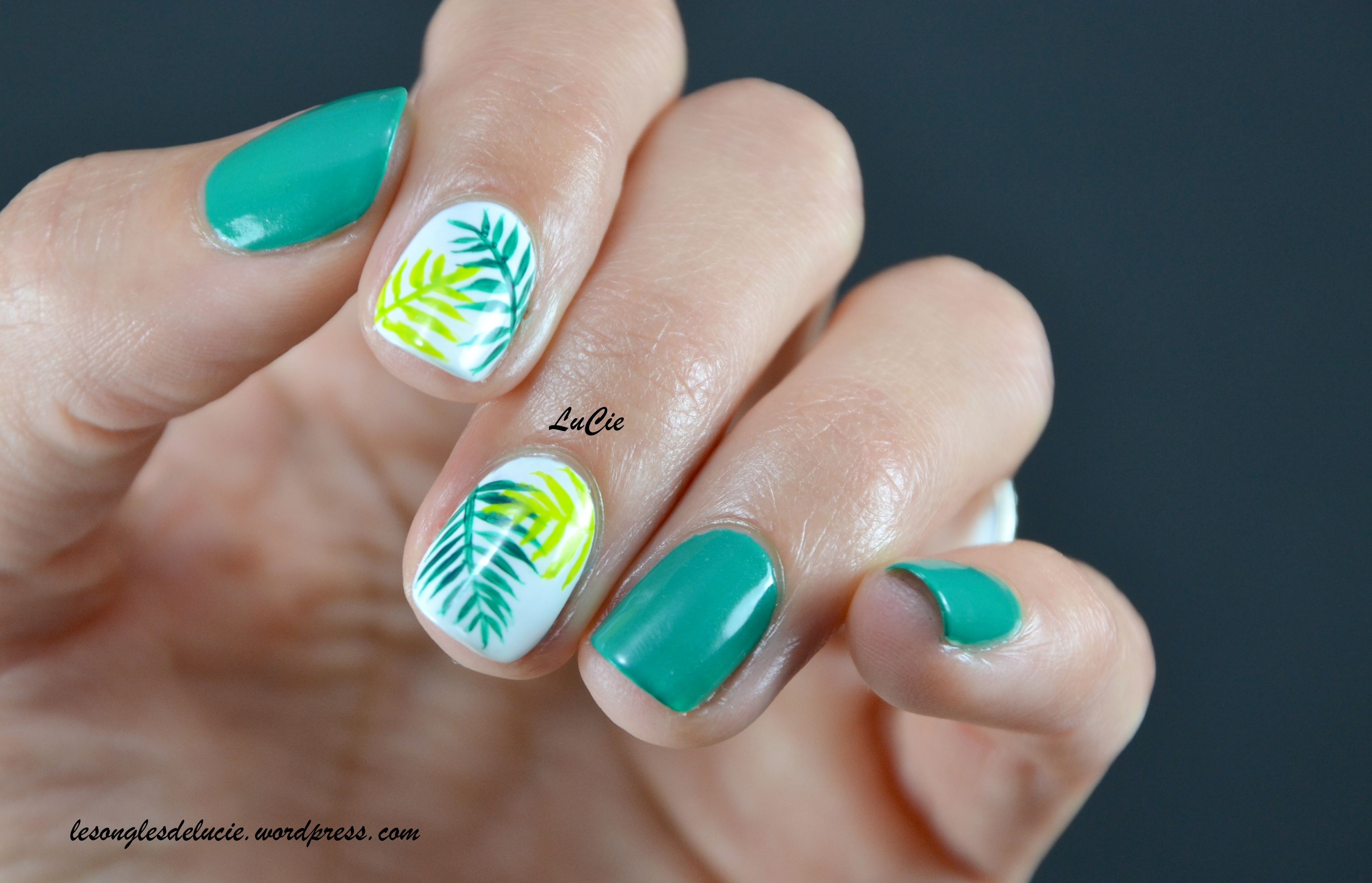 Nail art jungle