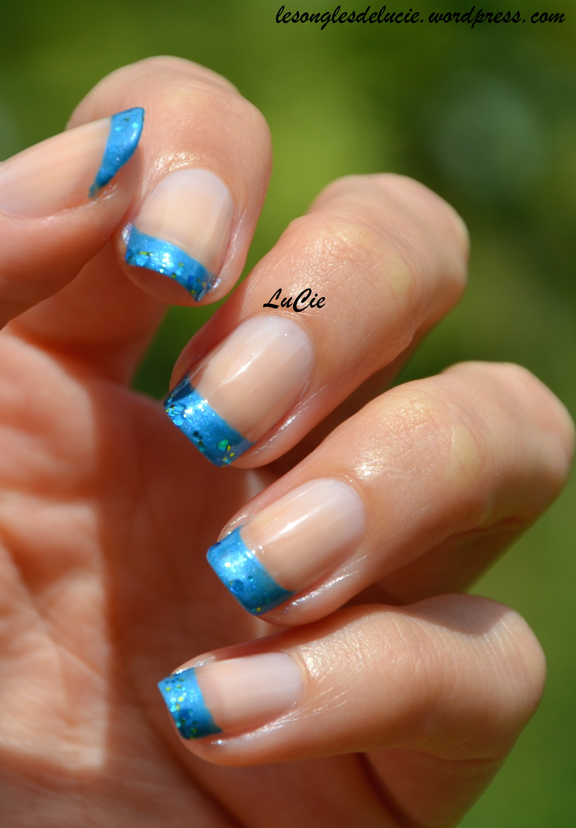 French Manucure Les Ongles De Lucie