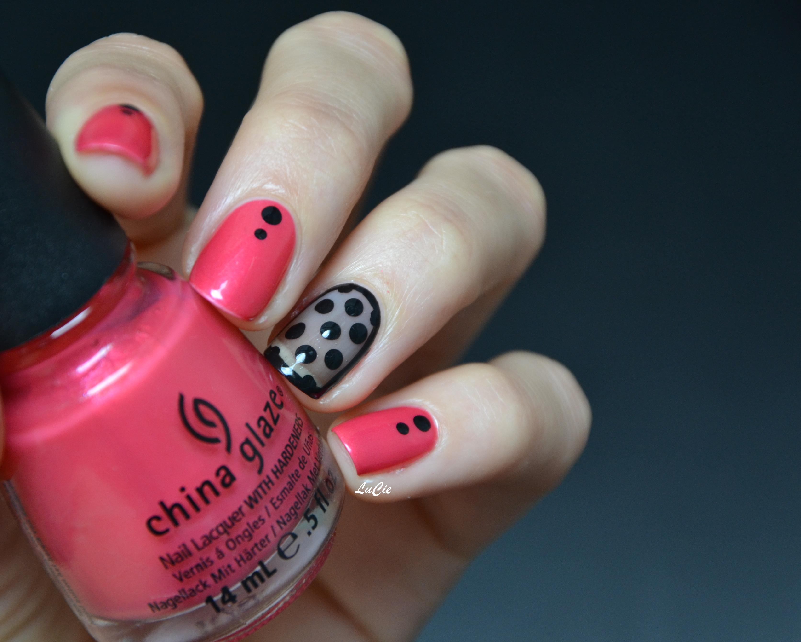 Idée Vernis Facile avec les ongles de lucie | de la couleur, un petit peu d'idée, et hop