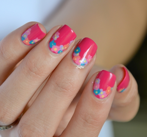 neon fest by rimmel london et couronne de fleurs les ongles de lucie. Black Bedroom Furniture Sets. Home Design Ideas