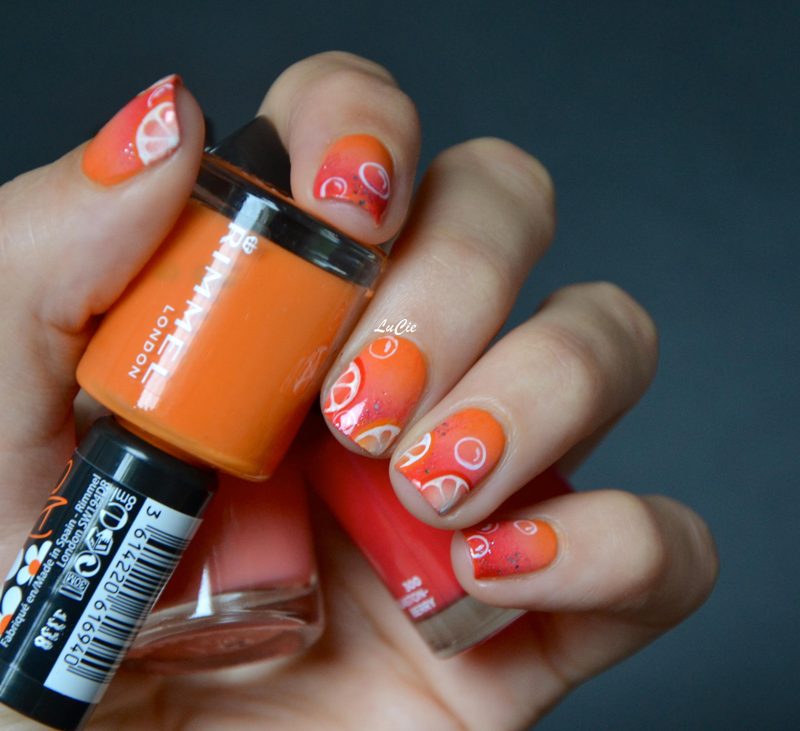 Idée Vernis Facile avec les ongles de lucie | de la couleur, un petit peu d'idée, et hop!